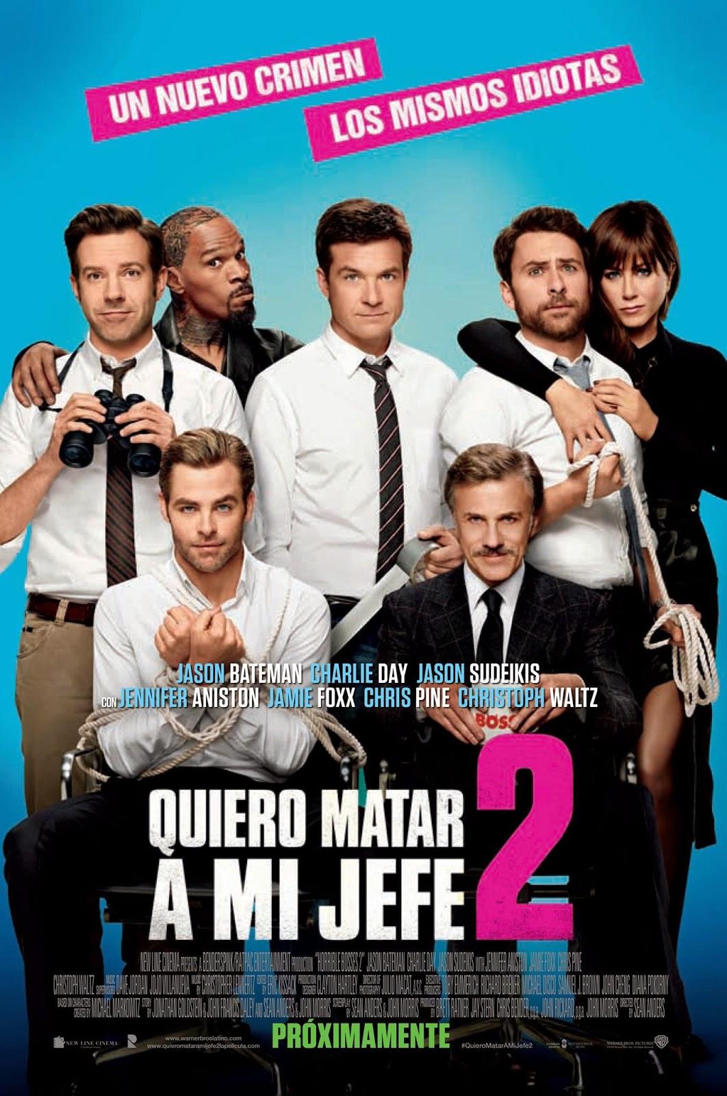 Quiero Matar A Mi Jefe 2 (2014) [Dvdrip] [Latino] [1 Link]
